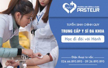 Điều kiện xét tuyển Trung cấp Y sĩ đa khoa Hà Nội năm 2018