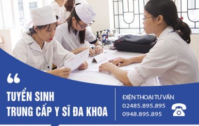 Những lưu ý khi đăng ký xét tuyển Trung cấp Y Sĩ đa khoa năm 2018