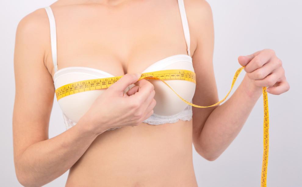 Ngực bỗng nhiên thay đổi kích cỡ