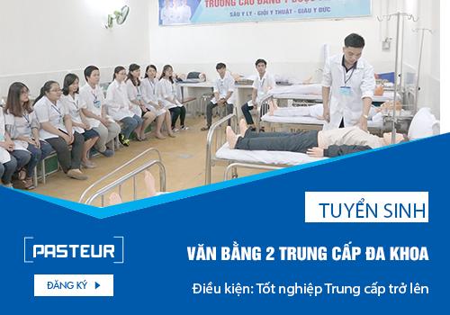 Chương trình đào tạo Văn bằng 2 Trung cấp Y sĩ đa khoa chất lượng