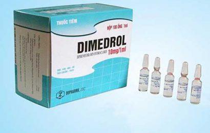 Hướng dẫn cách sử dụng thuốc Dimedrol chuẩn Dược sĩ