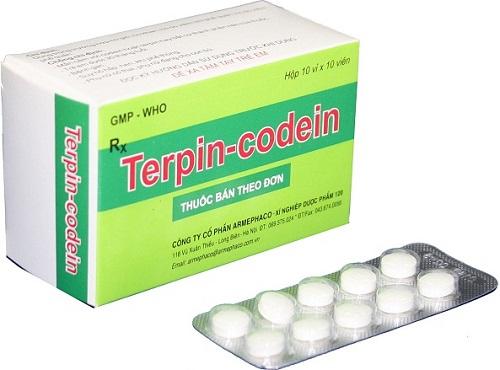 Thuốc Codein điều trị ho lâu ngày