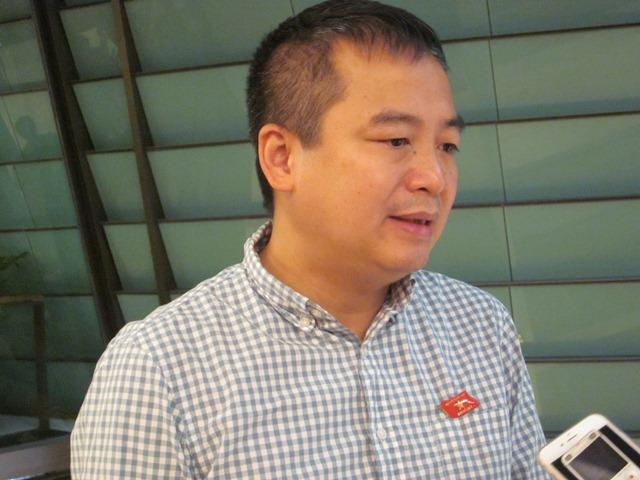Ông Nguyễn Lân Hiếu (con trai giáo sư Nguyễn Lân Dũng) - đoàn đại biểu Quốc hội An Giang