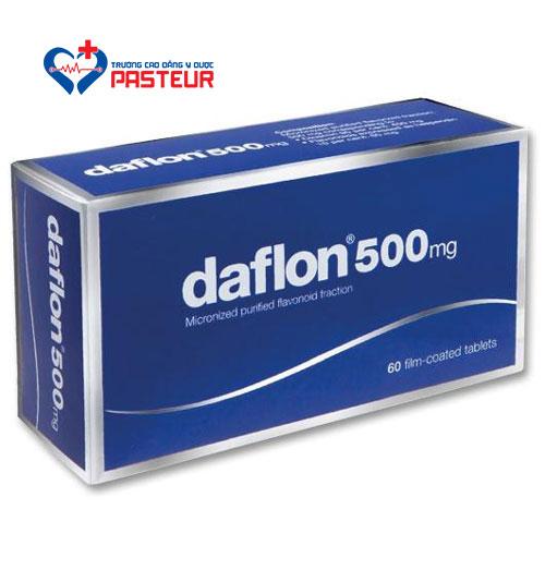 Daflon 500mg: Thuốc điều trị bệnh trĩ hiệu quả