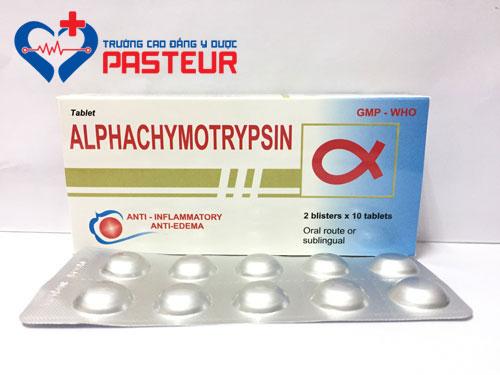 Hướng dẫn sử dụng thuốc Alpha chymotrypsin an toàn hiệu quả