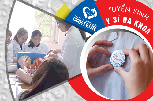 Trường Trung cấp Y khoa Pasteur đào tạo ngành Y sĩ đa khoa chuẩn đầu ra