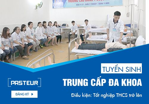 Tuyển sinh Trung cấp Y sĩ đa khoa chỉ cần tốt nghiệp THCS