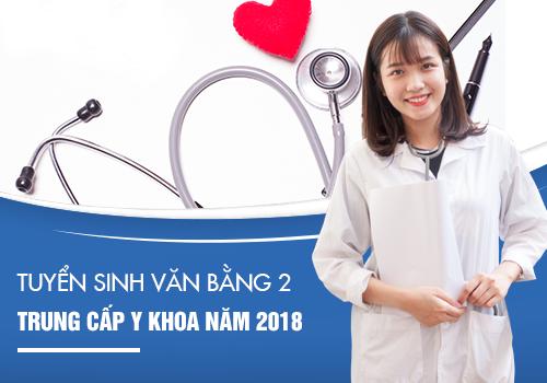 Trường Trung cấp Y khoa Pasteur tuyển sinh Văn bằng 2 Trung cấp Y sĩ đa khoa Hà Nội.