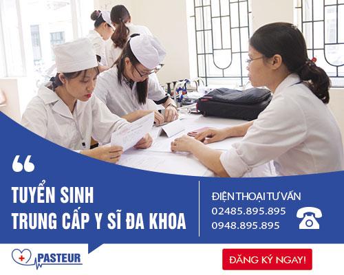 Tuyển sinh Trung cấp Y sĩ đa khoa Hà Nội