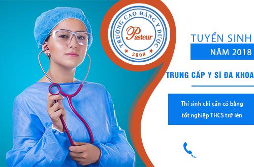 Tuyển sinh Trung cấp y sĩ đa khoa tại Hà Nội