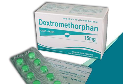 Thuốc kháng sinh extromethophan trị ho lâu ngày