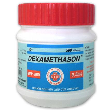 Tác dụng không mong muốn khi sử dụng Dexa