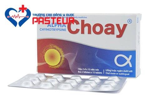 Dược sĩ hướng dẫn sử dụng thuốc Alpha chymotrypsin an toàn hiệu quả