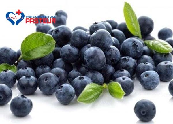 Quả việt quất có hàm lượng calo thấp nhưng chất dinh dưỡng cao