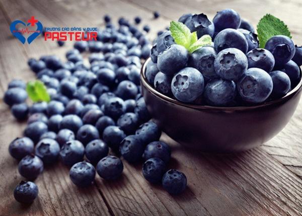 Những lợi ích mang lại từ quả việt quất