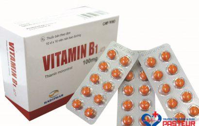 Sử dụng vitamin B1 điều trị viêm đa dây thần kinh