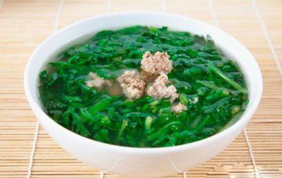 Một số món ăn bài thuốc điều trị bệnh từ cây cải cúc