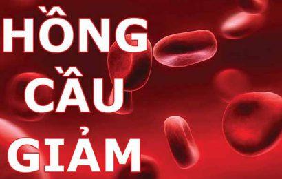 Có những phương pháp nào điều trị khi bị giảm hồng cầu trong máu?