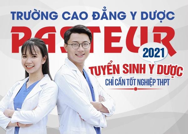 Trường Cao đẳng Y Dược Pasteur miễn giảm 100% học phí năm 2021