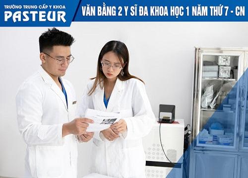 Xét tuyển Văn bằng 2 Trung cấp Y sĩ đa khoa TPHCM 2021